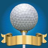 гольф премии — Cтоковый вектор