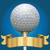 Premio de golf — Vector de stock