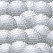 Golf ball background — Stock Vector