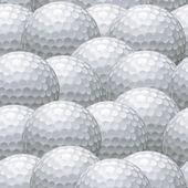 Golf topu arka plan — Stok Vektör