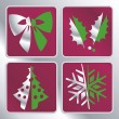Christmas icons — Stock Vector #13828455