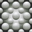 Seamless Golf Balls — Vettoriali Stock