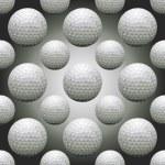 Seamless Golf Balls — Stock Vector #19923279