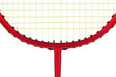 Badminton racket — Stock Photo