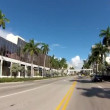 Biscayne Boulevard Miami - Stock Photo