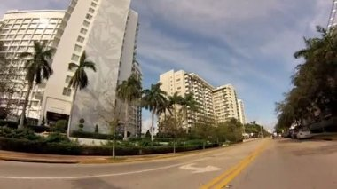 West ave., miami beach, fl — Stockvideo