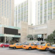 Taxi's at the Intercontinental Hotel - Stock Photo