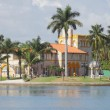 Stock Photo: Luxurious Mansion on water