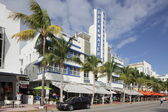 Hotel Breakwater in South Beach — Stock Photo