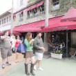 Stock footage of the Van Dyke Cafe on Lincoln Road - Stock Photo