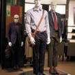 Mannequins at the mall — Stock Photo