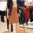 Modern mannequins at the mall — Foto Stock