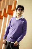Fashionable Hispanic man — Stock Photo
