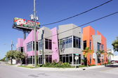 Cappellini furniture store at Wynwood Design district — Stok fotoğraf