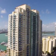 Aerial footage of Miami Architecture — Stock Video