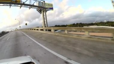 Express Lane on Interstate 95 — Stock Video