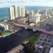 Aerial footage of Hallandale Beach — Stock Video