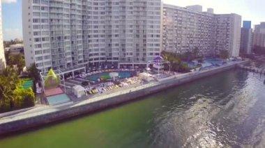 Mondrian miami beach — Stockvideo