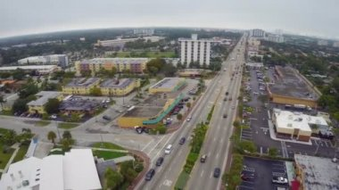 Biscayne Boulevard — Stock Video