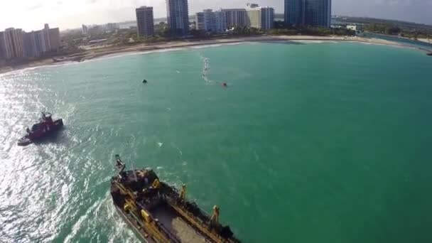 Costas de bal harbour beach — Vídeo de stock