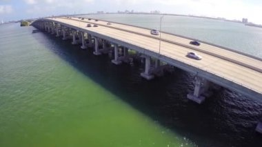 Puente de Miami — Vídeo de Stock