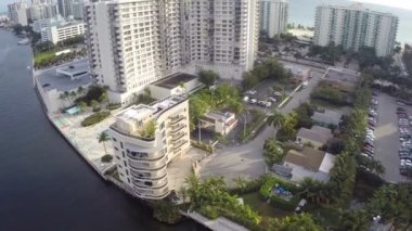 Waterfront condominium — Stock Video