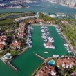 Fisher Island Miami Beach — Stock Video #39344557