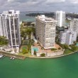 Island with buildings in Miami — Stock Video #39578595