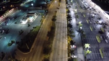 Hallandale Beach Boulevard — Stock Video