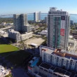 Midrise condos at Midtown Miami — Stockvideo #39707031