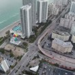 Aerial video of Hallandale Beach Florida — Stock Video