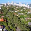 Miami Beach Pinetree Drive aerial video — Stock Video