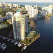 Aventura Florida aerial video — Stock Video