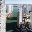 Brickell Miami aerial photo — Stock Photo