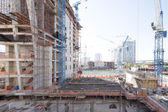 Brickell Construction site — Stock Photo
