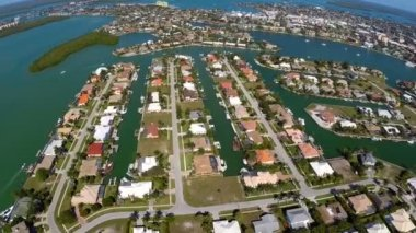 Residential Neighborhood Naples Florida — Vídeo Stock