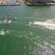 Aerial video of jet ski tour in Key West Florida — Stock Video #41687463