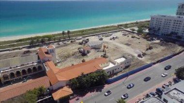 Surf club budowy witryny miami beach — Wideo stockowe