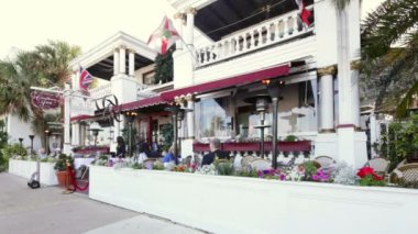 Video of the Casablanca Inn at St Augustine FL — Stock Video