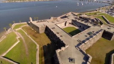 Castillo De San Marcos in St Augustine — Stock Video