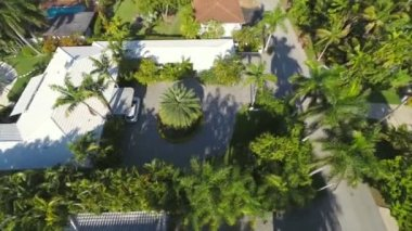 Residential video footage aerial — Stock Video