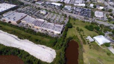 Aerial video of North Miami Beach Florida — Stock Video