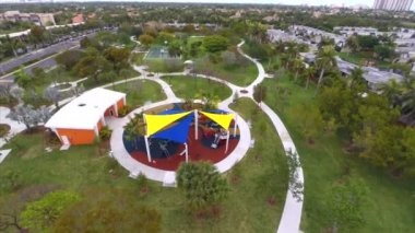 Joseph Scavo Park Hallandale — Stock Video