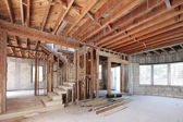 Stock image house interior frame — Stock Photo