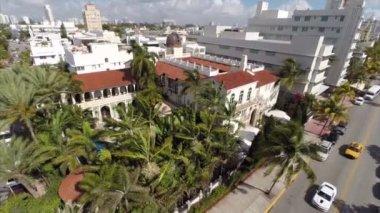 Ocean Drive Miami Beach — Vídeo stock