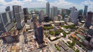 Construction site Miami Beach — 图库视频影像