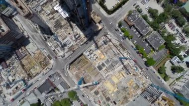Construction site Miami Beach — Stock Video