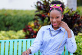 Jamaican woman — Stock Photo