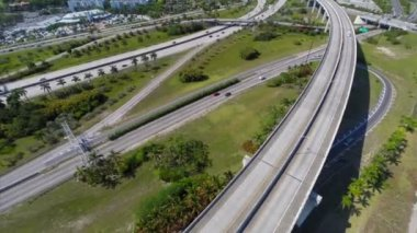 Golden Glades Interchange in Miami — Stock Video