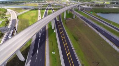Highway interchange — Stock Video